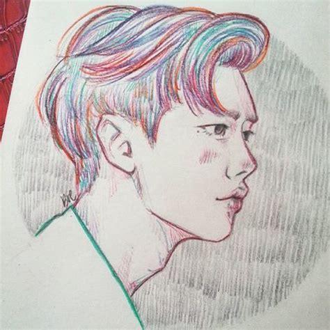 Sketches K Drama by Jong Suk Colorful Leejongsuk W Kangchul