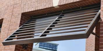image gallery louver awning
