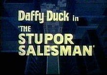 looney tunes title card template the stupor salesman