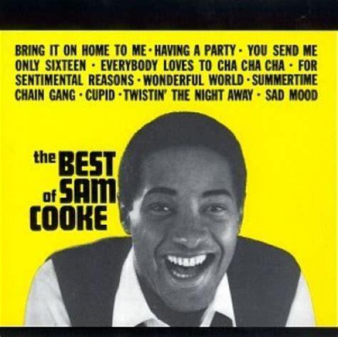 the best of sam cooke the best of sam cooke rca sam cooke songs reviews