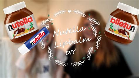 Nutella Lip Balm By Shoppasoap diy nutella lipbalm