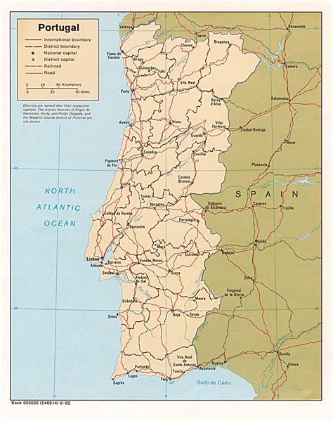 karten de landkarte portugal gt landkarten gt portugalkarte