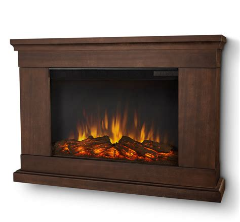 Slim Electric Fireplace Insert by 38 4 Quot Jackson Vintage Black Mahogany Slim Electric Fireplace