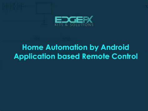 presentation smart home with home automation slideshare