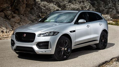 jaguar f pace black the motoring world the uk hits a 17 year high for exports