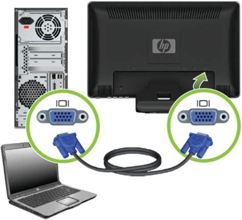 Vga Monitor Komputer hp 1910 2010 2210 2310 2510 and 2710 series lcd