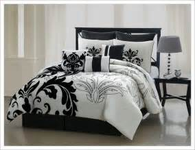black and size comforter set black white comforter sets king home design ideas
