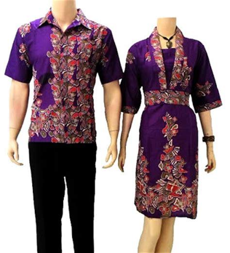 Baju Batik Mariana Sepasang Dress Wanita Kemeja Pria 1 model baju batik modern terbaru