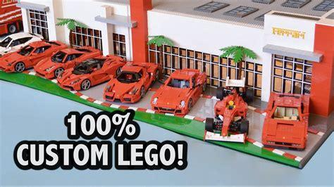 ferrari dealership incredible ferrari dealership 36 000 pieces youtube