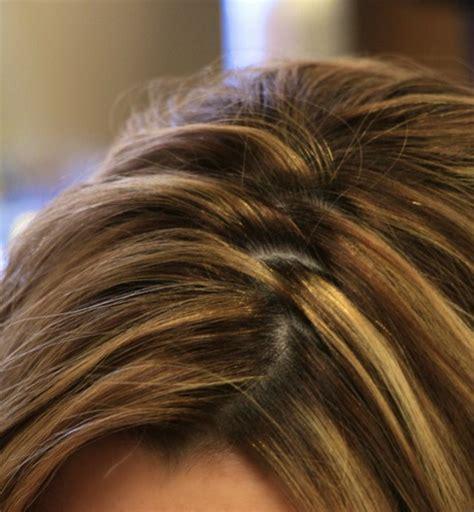 Hairstyles zig zag part