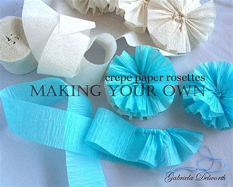 How To Make Crepe Paper Rosettes - 33 best images about papel crepe on flower