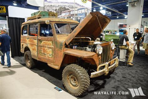 jeep station wagon 2016 2016 sema crown willys station wagon