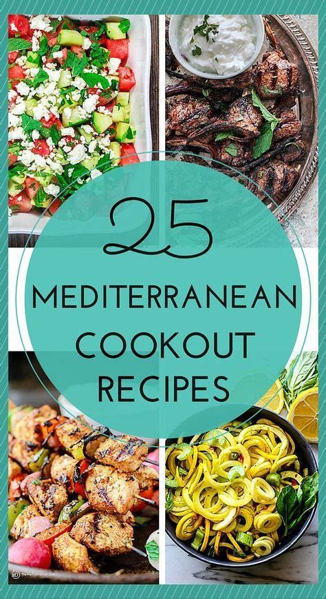 mediterranean recipes   cookout