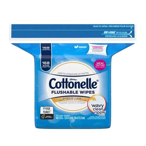 kleenex cottonelle flushable cleansing cloths fresh care  pack hy vee aisles  grocery