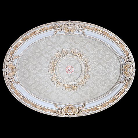 french blanco oval ceiling medallion 43 quot world of decor