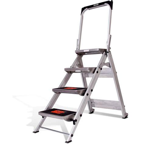 4 Step Stool Ladder by Ladder System Safety Step Ladder 4 Step
