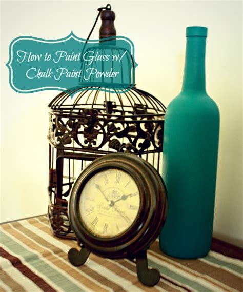 Hometalk Chalk Paint Vs Acrylic Paint On Glass