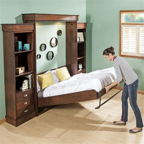 Murphy Bed by Vertical Mount Deluxe Murphy Bed Hardware Rockler