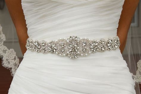 Wedding Dress Belts by Get Cheap Bridal Sash Belt Aliexpress
