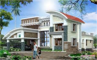 modern luxury house plans modern luxury house in 3073 sq home kerala plans