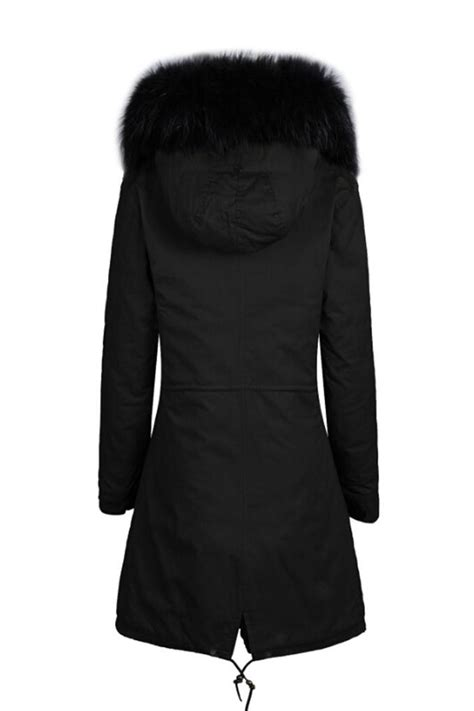 the fashion dollz parka black parka with faux black lining the fashion dollz