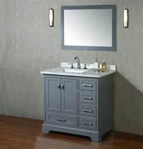36 bathroom vanity with sink stufurhome newport 36 quot transitional single sink bathroom