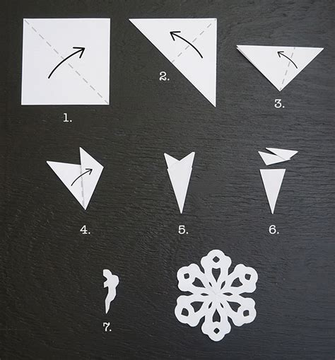 How To Make A Small Paper Snowflake - 20 frosty snowflake craft ideas for s