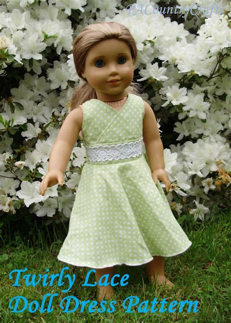 Dress A Doll Template by Elastic Waist Doll Dress Pattern Pa Country Crafts