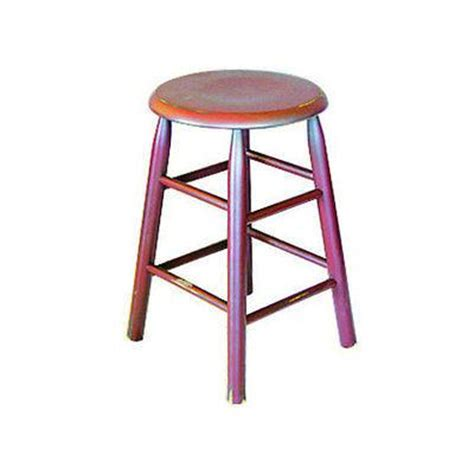 Handmade Wooden Bar Stools - bar stools custom finished hardwood wooden maple top
