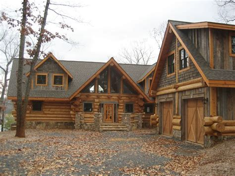 25 best ideas about log homes exterior on log