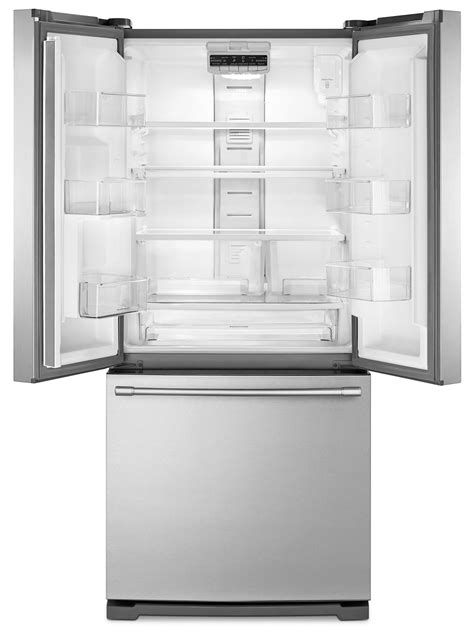 maytag refrigerator drawer replacement maytag stainless steel french door refrigerator 19 6 cu
