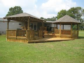 trailer for home lots of ideas for porches and decking for trailers