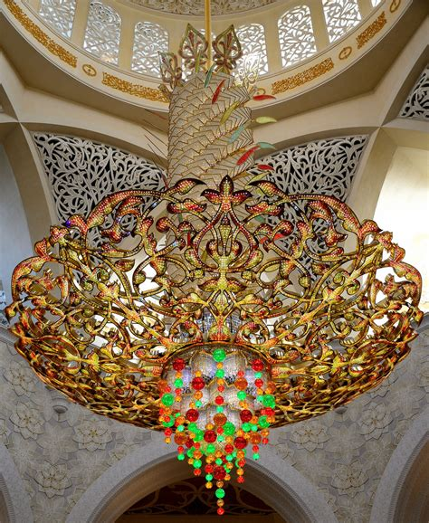 Sheikh Zayed Mosque Chandelier Grand Chandeliers Of Sheikh Zayed Grand Mosque Abu Dhabi Flickr