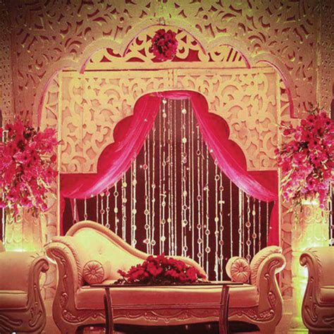 beautiful stage decor ideas  indian wedding