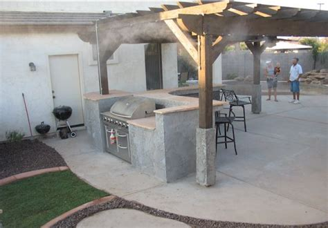 misting system and mistcapes for your arizona yard and patio