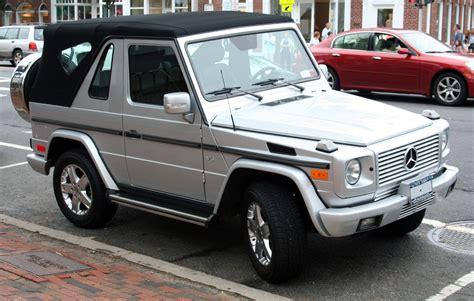 mercedes jeep convertible file mercedes g500 cabrio jpg wikimedia commons