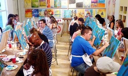 groupon paint nite florida the palette up to 47 miami fl