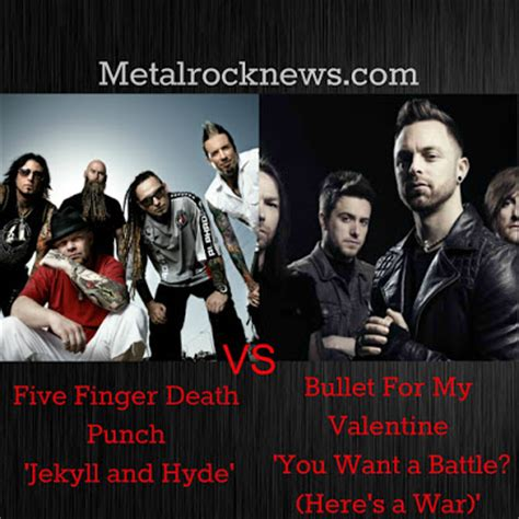 bullet for my lyrics you want a battle metalrocknews five finger punch s jekyll and hyde
