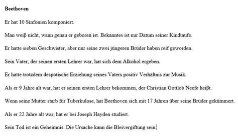 wann ist beethoven gestorben němčina věty