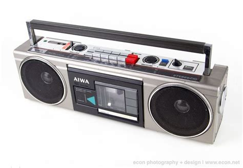 aiwa radio cassette recorder vintage aiwa cs 210h stereo boombox 4 band radio cassette