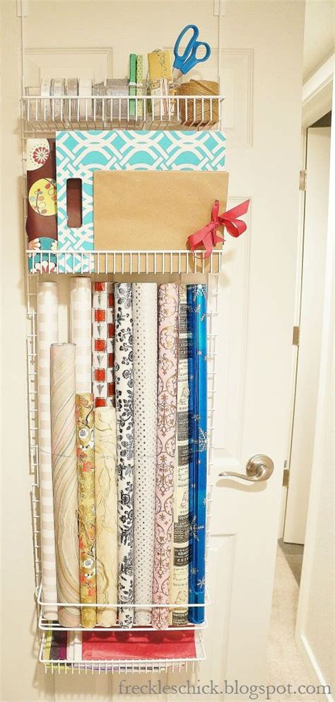 The Door Wrapping Paper Organizer by 25 Best Ideas About Gift Wrap Organizer On