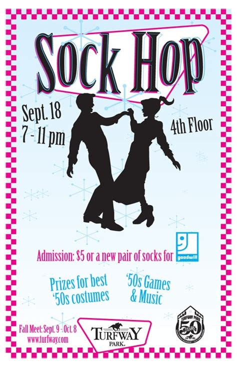 25 Best Ideas About Sock Hop On Pinterest Sock Hop Party Sock Hop Decorations And Grease Theme Sock Drive Flyer Template