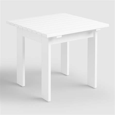 antique white side table antique white adirondack side table market