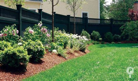 backyard landscaping ideas along fence landscaping along fences fence steps along the grade adding interest to the