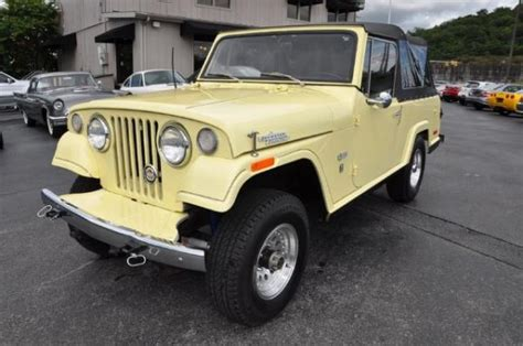 1971 jeep commando 1971 jeep jeepster commando information and photos