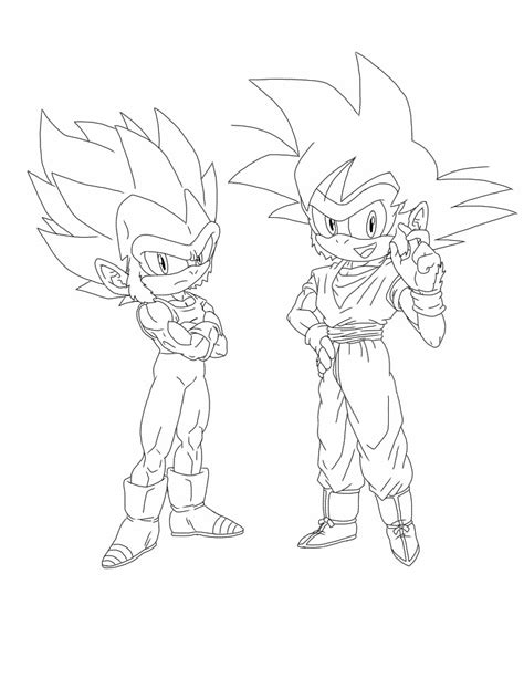 goku vs vegeta coloring pages games goku vs sonic coloring pages coloring pages