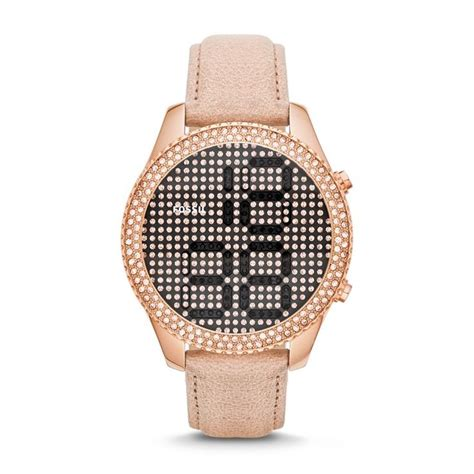 Fossil Leather D 4 8cm Artk Jpg 1000 ideas about digital on watches