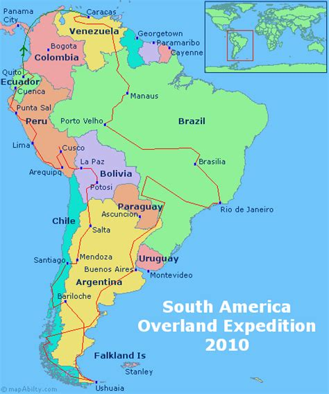and south america map america map maps update 10001148 south america travel map places