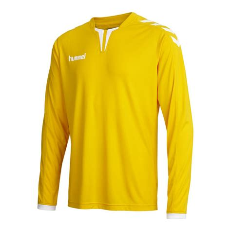 Hummel Ls by Hummel Sleeve Jersey Ls Poly Jersey For Gelb
