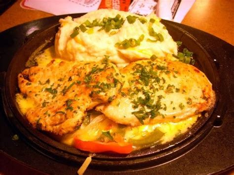 tgifridays sizzling chicken  cheese fabulous famous recipes